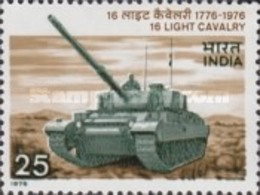 USED STAMPS India - The 200th Anniversary Of 16th Light Cavalry -  1975 - India