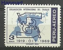 Peru 1970 Mi 748 MNH ( ZS3 PRU748 ) - Peru