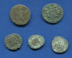 5 Monnaies Romaines A Identifier - Romeins