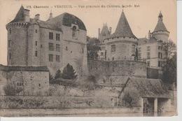 19 / 2 / 214. -  VERTEUIL  ( 16 )  VUE  GÉNÉRALE  DU  CHÂTEAU - France
