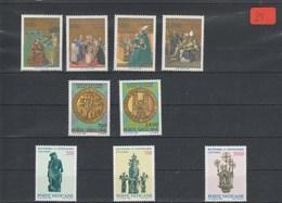 Vatikan    Poste Vaticani   Postfrisch**     MiNr. 907-915 - Vatikan