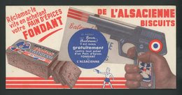BUVARD:  PAIN D'ÉPICE L'ALSACIENNE - Buvards, Protège-cahiers Illustrés