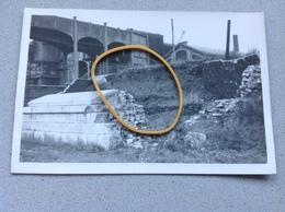 Farciennes  Photo D'époque 1942 Pont De La Sambre Route De Châtelet -Farciennes - Farciennes