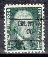 USA Precancel Vorausentwertung Preo, Locals Colorado, Gilman 835,5 - Vereinigte Staaten
