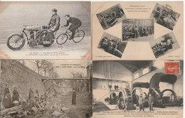 Lot De 100 Cartes Postales Anciennes Diverses Et Variées, Très Bien Pour Un Revendeur Réf, 371 - Cartes Postales
