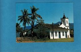 CPSM CAPELA N.SRA.DAS DORES PARATY RIO BRESIL - Eglises Et Cathédrales
