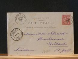 82/908  CP   DE LASALLE  1903 POUR LA SUISSE OBL. AMB. ANDUZE A ALAIS - 1900-02 Mouchon