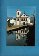 CPSM IGREJA DE STA RITA DE CASSIA, PARATY RIO BRESIL - Eglises Et Cathédrales