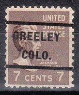 USA Precancel Vorausentwertung Preo, Locals Colorado, Greeley 232 - Vereinigte Staaten