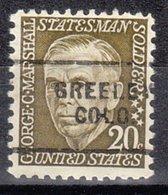 USA Precancel Vorausentwertung Preo, Locals Colorado, Greeley 703 - Vereinigte Staaten