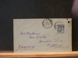 82/913  LETTRE POUR ENGLAND 1902 - 1900-02 Mouchon