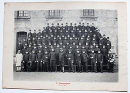 Phototypie 71 RI Régiment D'infanterie 7ème Et 8ème Compagnie Capitaine Maurier Et Gros - Dokumente