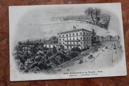 NICE (06) - HOTEL RICHEMOND ET DE RUSSIE - ASCENSEUR - CHAUFFAGE CENTRAL - Bar, Alberghi, Ristoranti