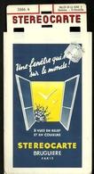 VALLEE De La SEINE (série 2 Caudebec - St Wandrille) N° 2666, 4 - STEREOCARTE Bruguiere PARIS 8 Vues Relief Et Couleurs - Visionneuses Stéréoscopiques