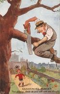 """Fred Buchanan. Gardening Hints. Tree-pruning Should  Be Done...."" Tuck Oiette PC # 3616 - Tuck, Raphael"