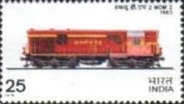 USED STAMPS India - Locomotives -  1975 - India