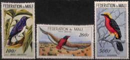 [827998]Mali 1960 - PA2/4, Aérienne, Oiseaux Divers, SC - Mali (1959-...)