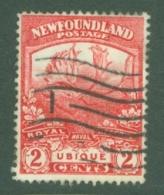 Newfoundland: 1919   Newfoundland Contingent   SG131     2c   Scarlet  [Perf: 14 X 13.9]   Used - 1908-1947