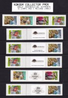 Australia 2010 Kokoda Collector Pack - Self-adhesives With Message Labels - 2000-09 Elizabeth II