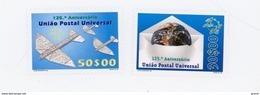 Cap Vert-Cabo Verde-1999-UPU-Avion,736/7***MNH- VARIETE-Cabo Verde Non Repris - Cap Vert