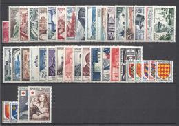 France Année Complète - YT N° 968 à 1007 - Neuf Sans Charnière - 1954 - 1950-1959