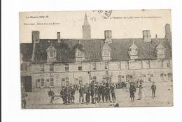 Lo-reninge La Guerre L'hospice De Loo Avant Le Bombardement 1918 Destrooper Loo-lez-furnes Sint Janshospitaal Lo - Lo-Reninge