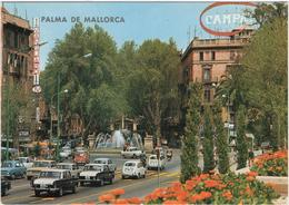 Palma De Mallorca - Plaza De La Reina - & Old Cars - Palma De Mallorca