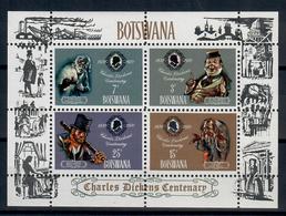 BOTSWANA 1970 - CHARLES DICKENS - FGL - MNH ** - Botswana (1966-...)