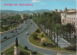 Vista General Paseo Sagrera - Palma De Mallorca - & Old Cars - Palma De Mallorca