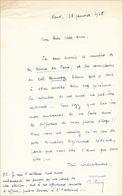 Lettre De Marcel Thiry, 1968 - Autographes