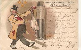 "Percy V. Bradshaw. Stock Esnchange Notes. A Loan On Turkey.."" Tuck Humorous Ser. PC # 1179 - Tuck, Raphael"