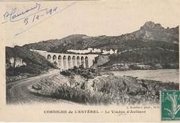 CPA 83 (Var) SAINT RAPHAEL / CORNICHE DE L'ESTEREL / VIADUC D' ANTHEOR AVEC TRAIN - Saint-Raphaël