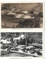 2 Cartes 1951 54 / 27 LA GUEROULDE / Usines CHAUBEYRE - Francia