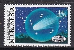 TIMBRE NEUF DE MICRONESIE - RETOUR DE LA COMETE DE HALLEY N° Y&T PA 16 - Astronomie