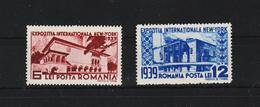 1939 - Expo New York Mi No 594/595 MNH - 1918-1948 Ferdinand, Carol II. & Mihai I.