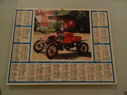 Almanach Ptt De 1985 Recto Voiture Rambler 1902  Verso Ford N Usa - Calendriers