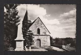 CPSM Pf. Dépt.27. GIVERNY . L' Église . Monument Aux Morts . - Francia