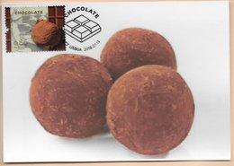 CARTE MAXIMUM - MAXIMUM KARTE - TARJETA MAXIMA - MAXIMUM CARD - PORTUGAL - DU CACAO AU CHOCOLAT - TRUFFES AU CHOCOLAT - Francobolli