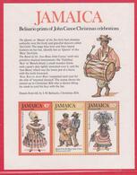 GIAMAICA 1976 - NATALE - FOGLIETTO NUOVO - Giamaica (1962-...)