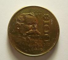 Mexico 100 Pesos 1989 Varnished - Mexiko