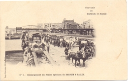 PK - Circus Cirque Barnum & Bailey - Déchargement Des Trains - Cirque