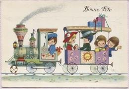 CPM - Fantaisie Illustrée J.I.ROSA - SCENE ENFANTINE - Edition C.Y.Z. - Dessins D'enfants