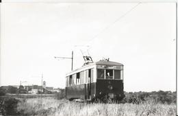 Carte Photo - 21 - Tramway Ligne De Gevrey Chambertin - Dijon - Train - Locomotive Automotrice -- Chemin De Fer - Gevrey Chambertin
