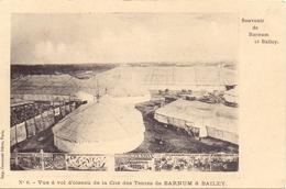 PK - Circus Cirque Barnum & Bailey - Vue En Vol D'oiseau De La Cité Des Tentes - Cirque