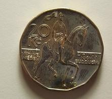 Czech Republic 20 Korun 1999 Varnished - Tchéquie