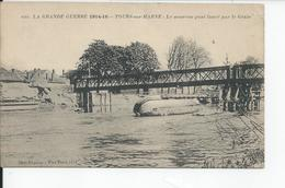 TOURS SUR MARNE   Le Nouveau Pont - Autres Communes