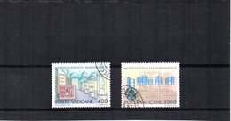 VATICANO 1987 SASSONE S212 USATO - Vaticano (Ciudad Del)