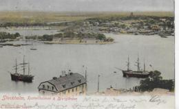 AK 0159  Stockholm - Kastellholmen & Djurgarden Um 1902 - Schweden