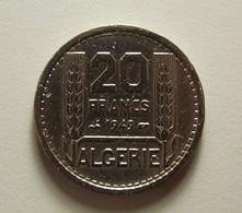 Algeria 20 Francs 1949 Varnished - Algérie