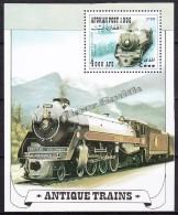 Afghanistan - Afganistan 1998 Michel BF 100 / Block 100 - Locomotives - Miniature Sheet - MNH - Afghanistan